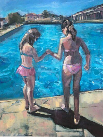 Trust by Ayse McGowan, Oil on canvas