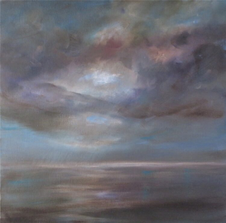 Hazy Day by Helen Robinson, Oil on board