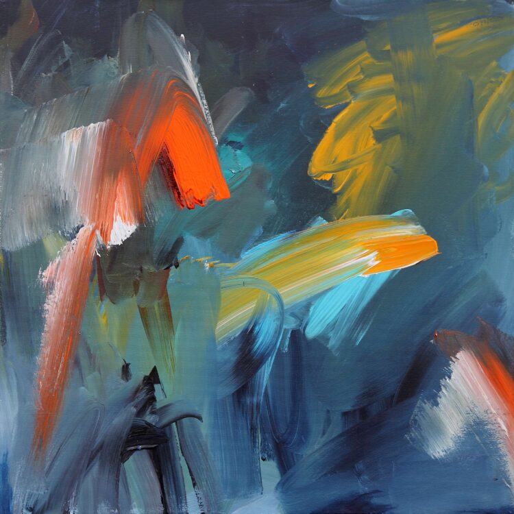Movement by Joanna Gilbert, Acrylic on canvas