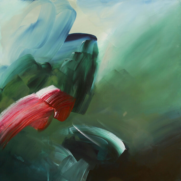 Into the Green by Joanna Gilbert, Acrylic on canvas