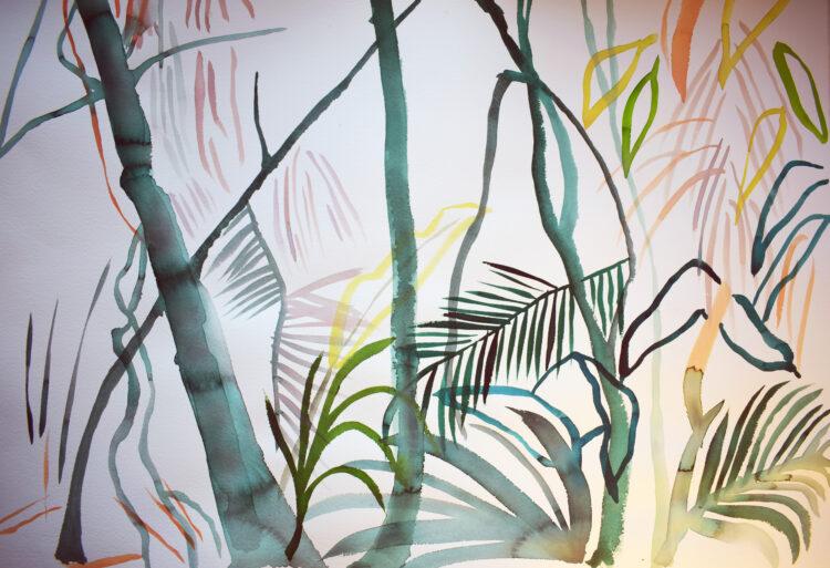 Mangrove Study by Alice Gavin Atashkar