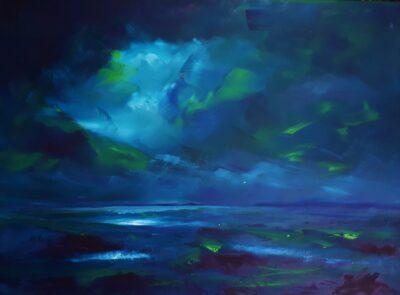 Phosphorescence by Helen Robinson, Oil on canvas