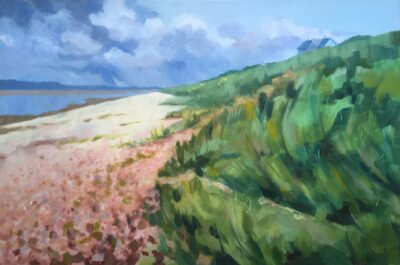 Rain on the Way by Margaret Crutchley, Acrylic on Canvas
