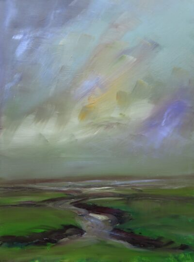 Saltmarsh by Helen Robinson, Oil on canvas