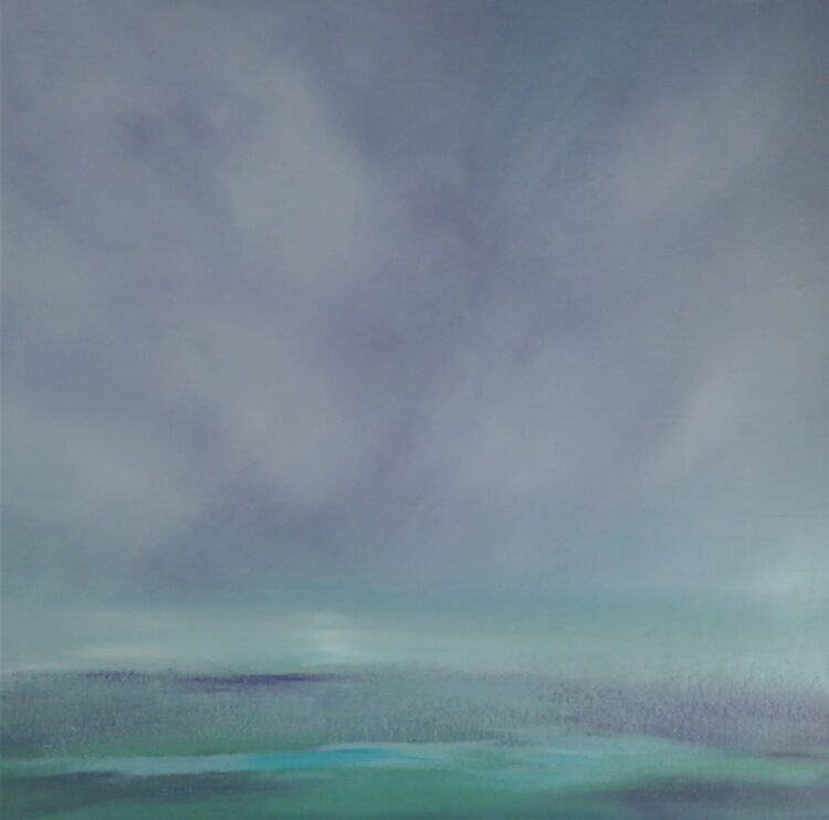 Sea Mist by Helen Robinson, Oil on canvas board