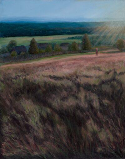 Somewhere in Urals II by Diana Sandetskaya, Oil on canvas