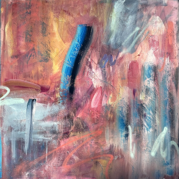 Things will start to change by Joanna Gilbert, Acrylic on canvas