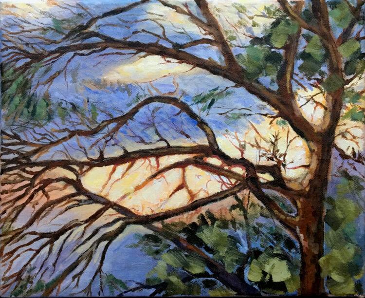 New Beginning by Neeta Popat Kataria, Acrylic on Canvas