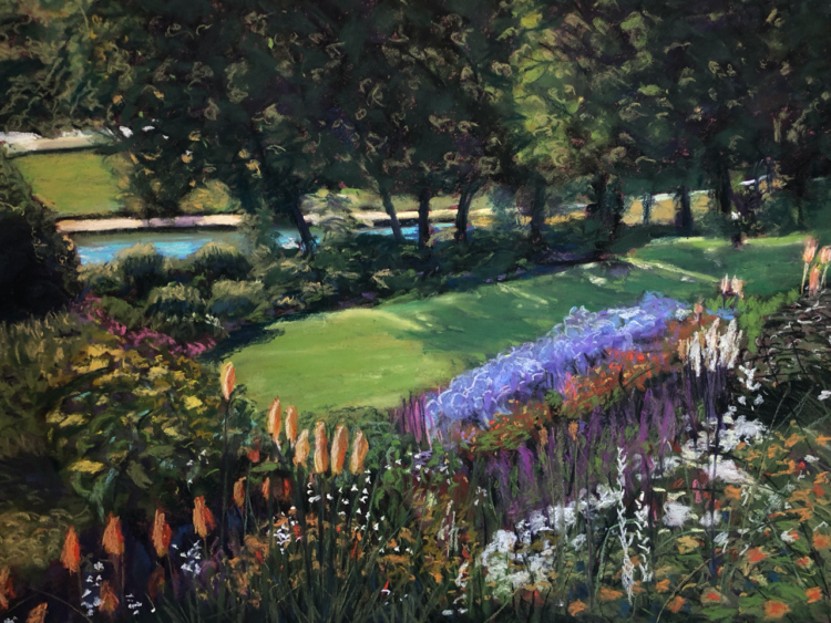 Garden of Light by Dawn Limbert, Pastel on paper